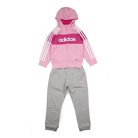 adidas阿迪达斯新款专柜同款小童女长袖套服AJ4049