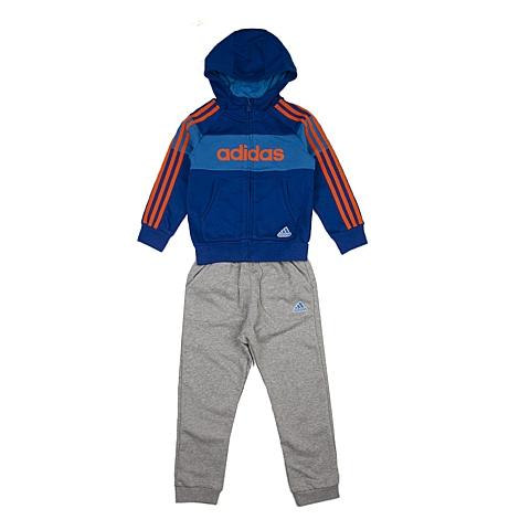 adidas阿迪达斯新款专柜同款小童男长袖套服AJ4048