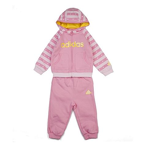 adidas阿迪达斯新款专柜同款女婴长袖套服AJ4004
