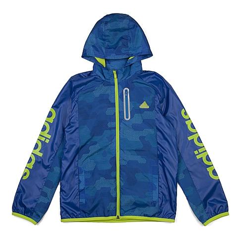 adidas阿迪达斯新款专柜同款小童男梭织茄克AJ4015