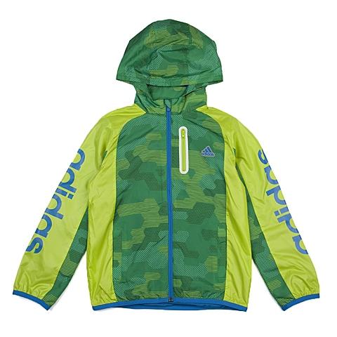 adidas阿迪达斯新款专柜同款小童男梭织茄克AJ4016