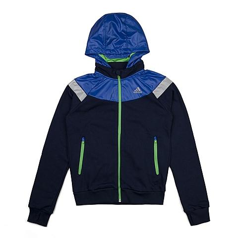 adidas阿迪达斯新款专柜同款大童男针织茄克AJ3961