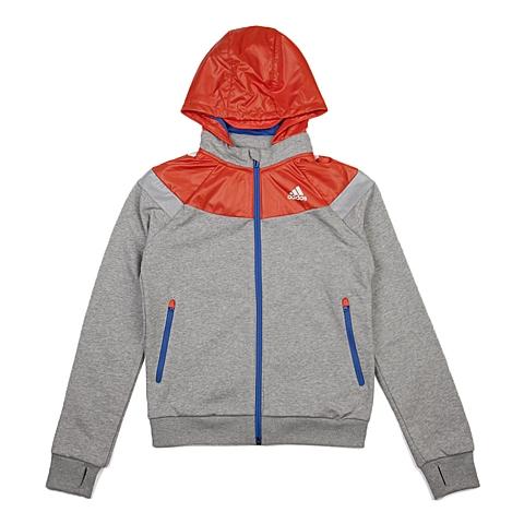 adidas阿迪达斯新款专柜同款大童男针织茄克AJ3962