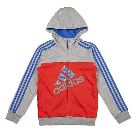 adidas阿迪达斯新款专柜同款大童男针织茄克AJ3969