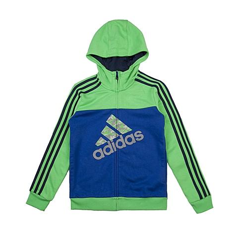 adidas阿迪达斯新款专柜同款大童男针织茄克AJ3970