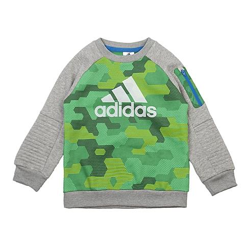 adidas阿迪达斯2016新款专柜同款小童男套头衫AJ4020