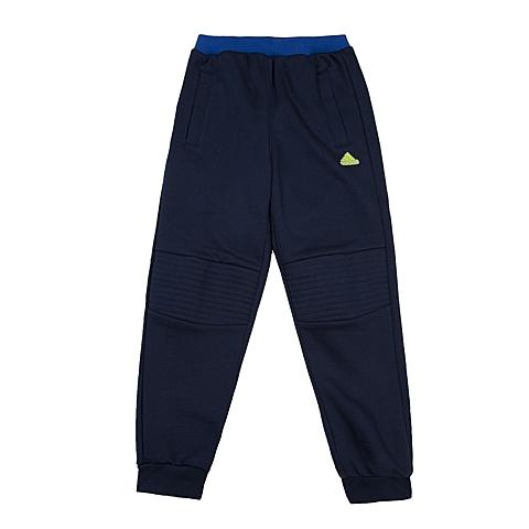 adidas阿迪达斯新款专柜同款小童男针织长裤AJ4022