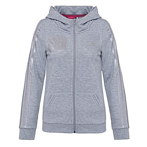 adidas阿迪达斯新款女子运动休闲系列针织外套AJ1190