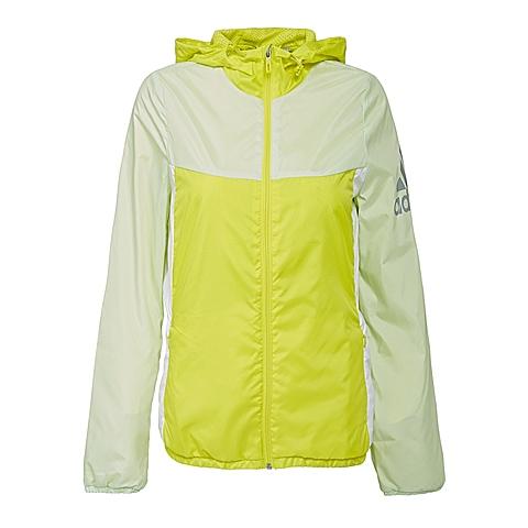 adidas阿迪达斯新款女子运动休闲系列梭织外套AJ1216