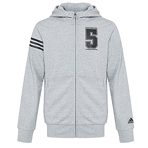 adidas阿迪达斯新款男子篮球常规系列针织外套AJ3612
