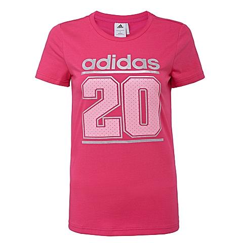adidas阿迪达斯2016年新款女子运动休闲系列T恤AJ1193