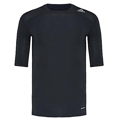 adidas阿迪达斯2017年新款男子运动全能系列紧身T恤AJ4966