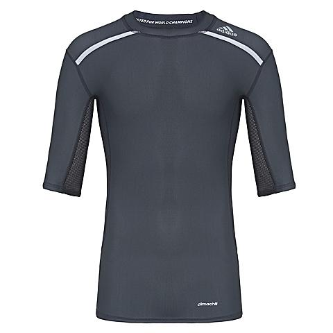adidas阿迪达斯新款男子运动全能系列紧身T恤AJ5705