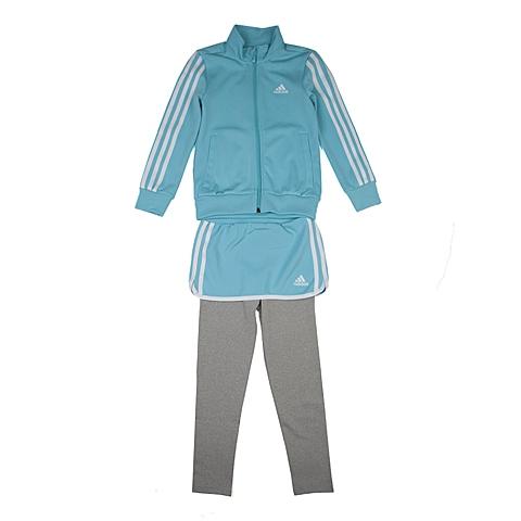 adidas阿迪达斯新款专柜同款小童女长袖套服AJ3992