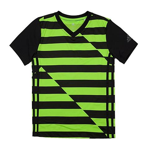 adidas阿迪达斯新款专柜同款大童男短袖T恤AO2825
