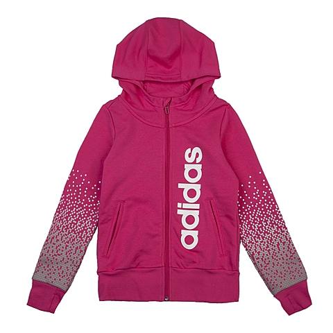 adidas阿迪达斯新款专柜同款大童女针织茄克AO4561