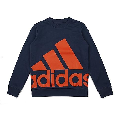 adidas阿迪达斯新款专柜同款大童男套头衫AK2012