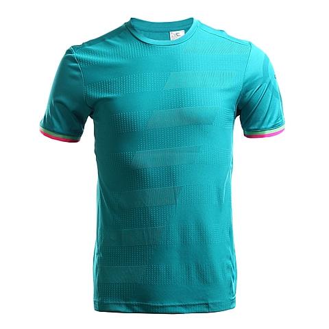 adidas阿迪达斯2016年新款男子足球常规系列短袖T恤AC6385