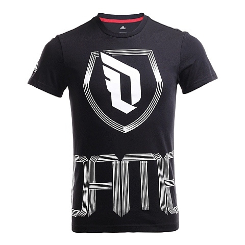 adidas阿迪达斯新款男子签约球员系列短袖T恤AJ1764