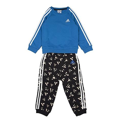 adidas阿迪达斯新款专柜同款男婴长袖套服AJ7363