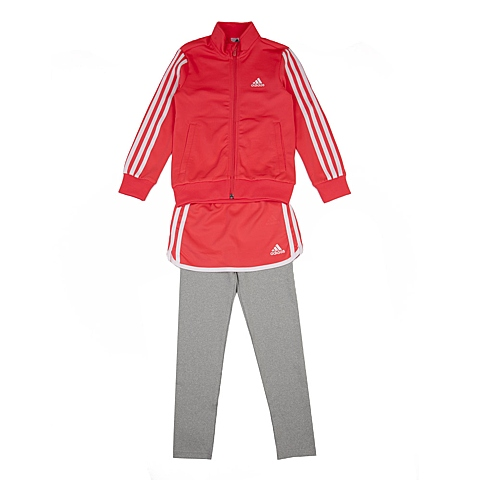 adidas阿迪达斯新款专柜同款小童女长袖套服AJ3991