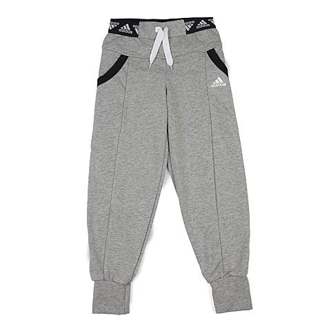 adidas阿迪达斯新款专柜同款小童女针织长裤AO4558