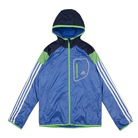adidas阿迪达斯新款专柜同款大童男梭织茄克AJ3959