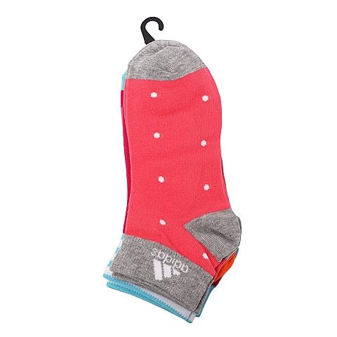 adidas阿迪达斯2016年新款女子训练系列袜子(3双)AJ4267
