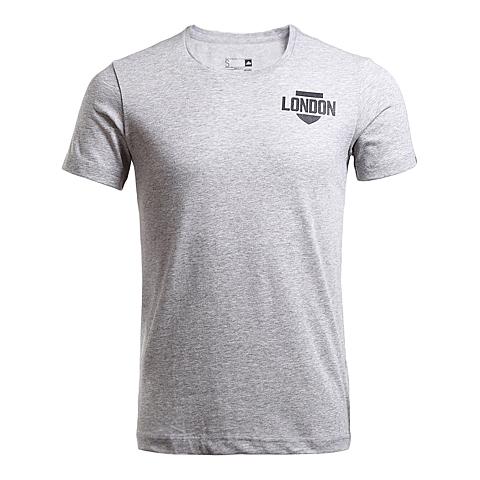 adidas阿迪达斯新款男子跑步图案系列短袖T恤AI5954