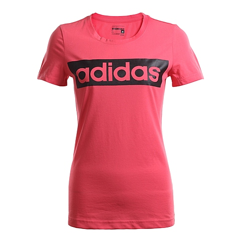 adidas阿迪达斯新款女子训练系列短袖T恤AJ4574