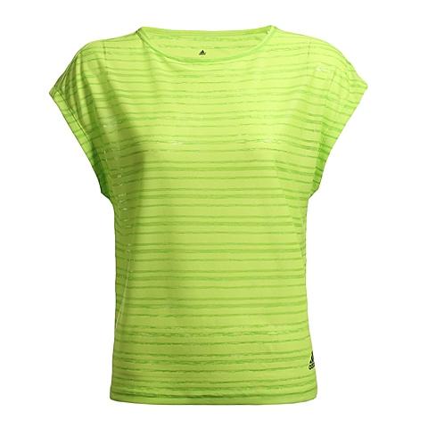 adidas阿迪达斯新款女子训练系列短袖T恤AJ5062