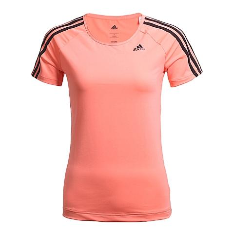 adidas阿迪达斯新款女子训练系列短袖T恤AJ5368