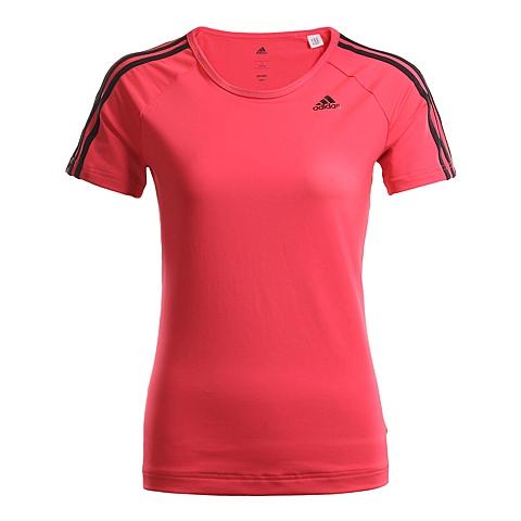 adidas阿迪达斯新款女子训练系列短袖T恤AJ5369