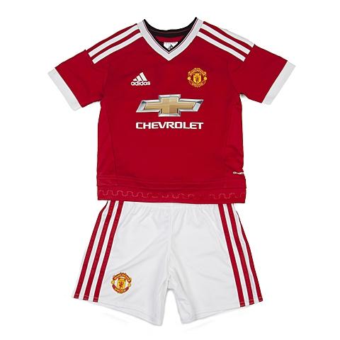 adidas阿迪达斯新款专柜同款男小童足球俱乐部系列短袖套服AC1423