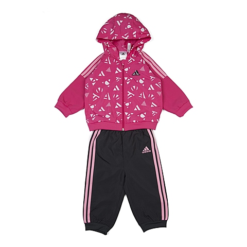 adidas阿迪达斯新款专柜同款女婴童长袖套服AJ7365