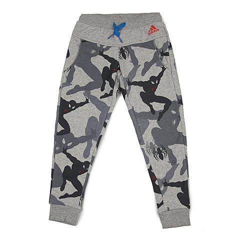 adidas阿迪达斯新款专柜同款男小童迪士尼系列针织长裤AJ4077
