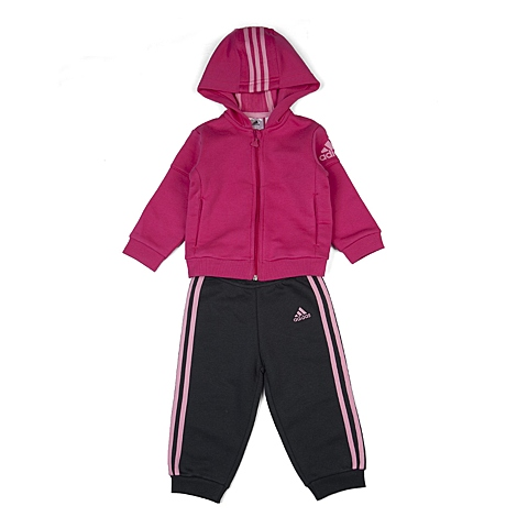 adidas阿迪达斯新款专柜同款女婴童长袖套服AK2589