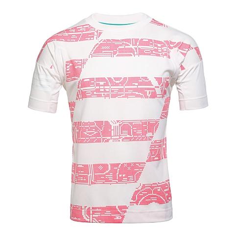adidas阿迪达斯新款男子足球文化系列T恤AJ5155