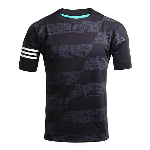 adidas阿迪达斯新款男子足球文化系列T恤AJ5157
