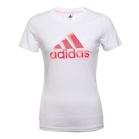 adidas阿迪达斯2016年新款女子训练系列短袖T恤AJ1486