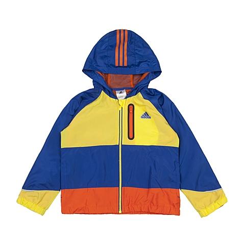adidas阿迪达斯新款专柜同款男小童梭织茄克AJ4033