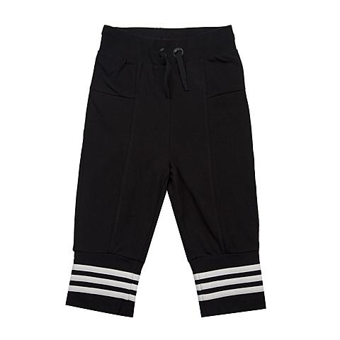 adidas阿迪达斯新款专柜同款女大童针织七分裤AJ5339