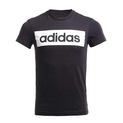 adidas阿迪达斯新款男子运动基础系列T恤AJ6077