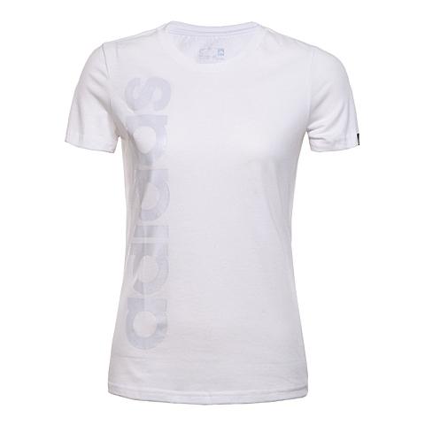 adidas阿迪达斯2016年新款女子运动休闲系列T恤AI6143