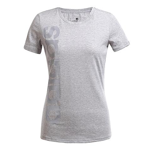 adidas阿迪达斯新款女子运动休闲系列短袖T恤AO3173