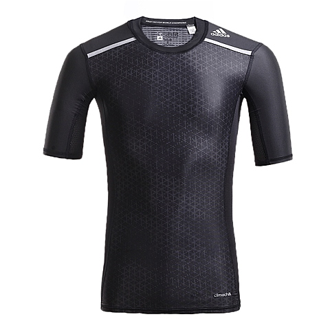 adidas阿迪达斯新款男子TECH FIT系列短袖T恤AI9391
