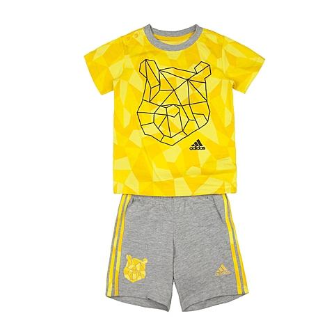 adidas阿迪达斯新款专柜同款男婴童迪士尼系列短袖套服AK2499