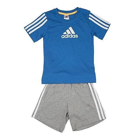 adidas阿迪达斯新款专柜同款男小童短袖套服AO4671
