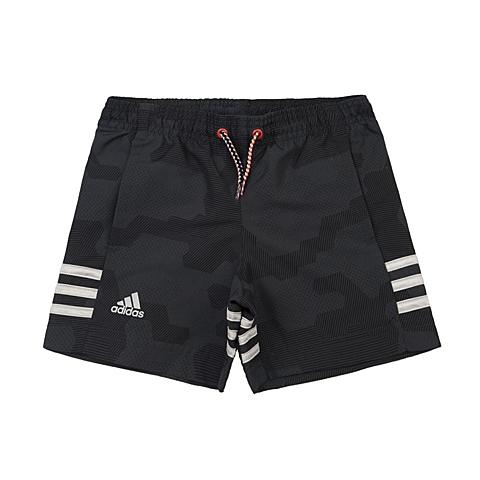 adidas阿迪达斯新款专柜同款男小童梭织短裤AJ6557