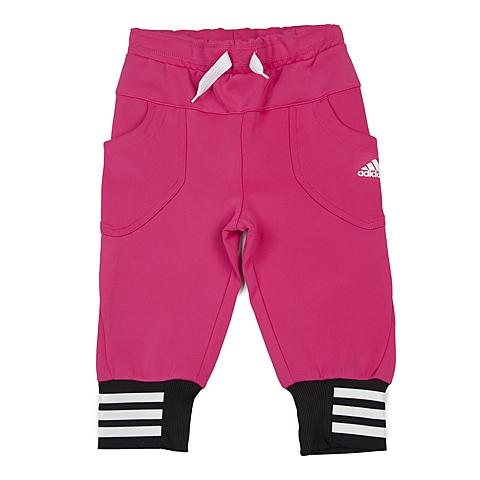 adidas阿迪达斯新款专柜同款女小童针织七分裤AK1967